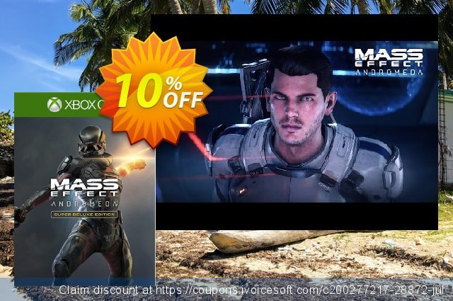 Mass Effect Andromeda Super Deluxe Edition Xbox One discount 10% OFF, 2020 Halloween offering sales