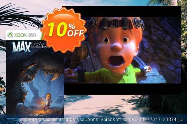 Max: The Curse of Brotherhood Xbox 360 - Digital Code discount 10% OFF, 2020 Thanksgiving Day offering sales
