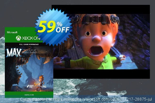 Max: The Curse of Brotherhood - Xbox One Digital Code discount 58% OFF, 2020 Halloween offering sales