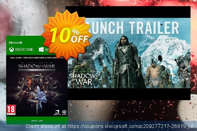 Middle-Earth: Shadow of War Silver Edition Xbox One / PC  서늘해요   세일  스크린 샷