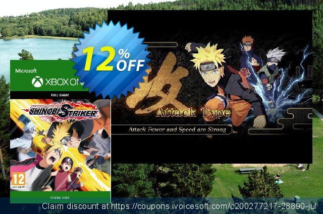 Naruto To Buruto Shinobi Striker Standard Edition Xbox One 可怕的 折扣码 软件截图