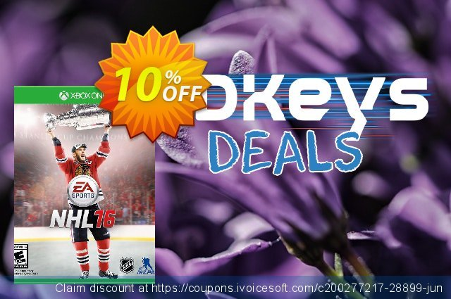 NHL 16 - Xbox One discount 10% OFF, 2021 World Population Day offering sales. NHL 16 - Xbox One Deal