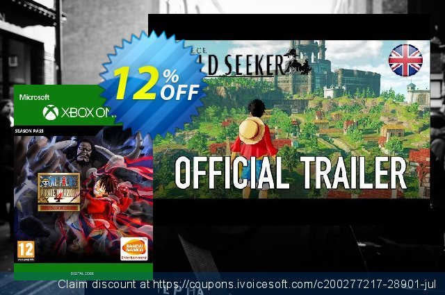 One Piece: Pirate Warriors 4 - Character Pass Xbox One discount 12% OFF, 2021 Happy New Year offering sales