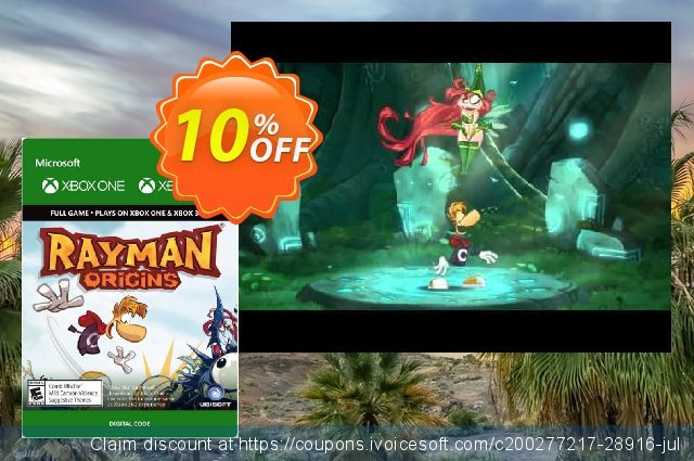 Rayman Origins - Xbox 360 / Xbox One discount 10% OFF, 2020 University Student deals offering sales