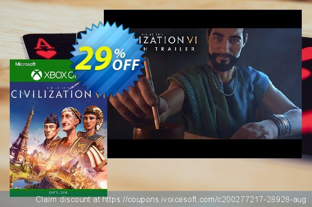 Sid Meier's Civilization VI 6 Xbox One (UK)  훌륭하   할인  스크린 샷