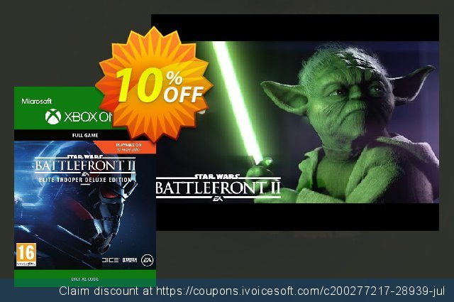Star Wars Battlefront 2: Elite Trooper Deluxe Edition Xbox One  서늘해요   촉진  스크린 샷