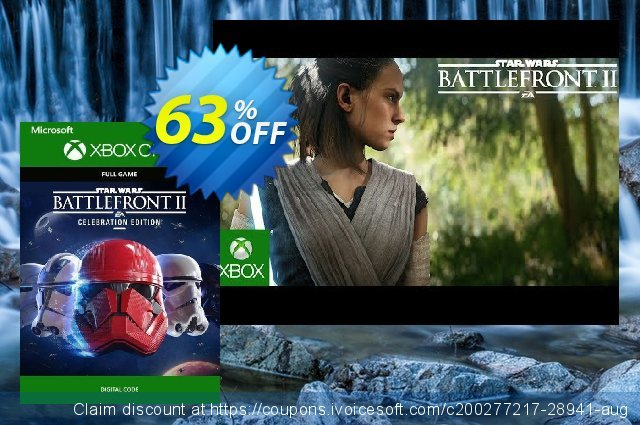Star Wars Battlefront II 2 - Celebration Edition Xbox One (UK) 令人印象深刻的 折扣 软件截图