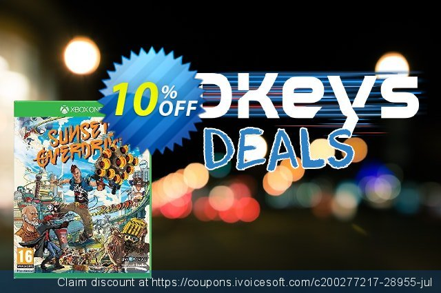 Sunset Overdrive Xbox One - Digital Code discount 10% OFF, 2020 Exclusive Teacher discount offering sales