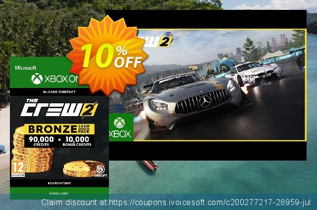 The Crew 2 Bronze Crew Credits Pack Xbox One 独占 产品销售 软件截图