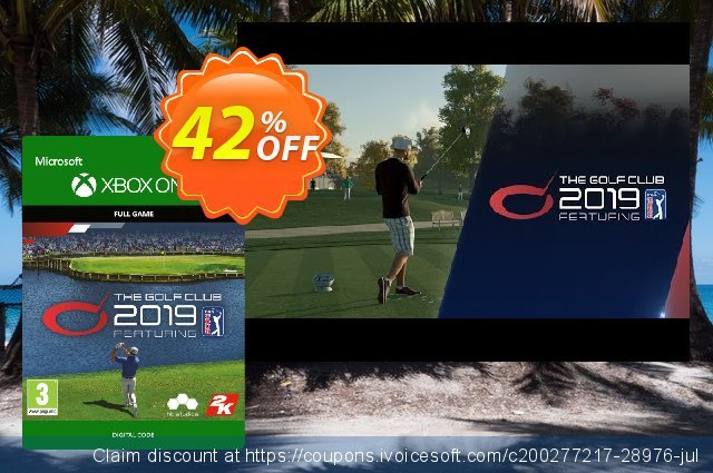The Golf Club 2019 Feat. PGA Tour Xbox One (UK) discount 42% OFF, 2020 Halloween promotions