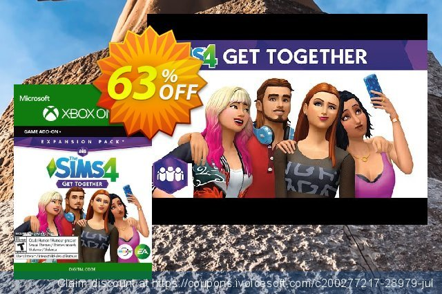 The Sims 4: Get Together Xbox One  특별한   할인  스크린 샷