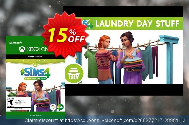 The Sims 4: Laundry Day Stuff Xbox One  신기한   촉진  스크린 샷