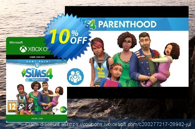 The Sims 4 - Parenthood Game Pack Xbox One 可怕的 产品销售 软件截图