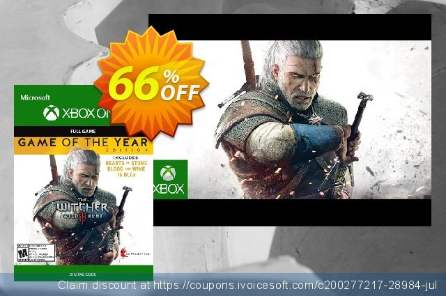 The Witcher 3: Wild Hunt – Game of the Year Edition Xbox One (US)  굉장한   제공  스크린 샷