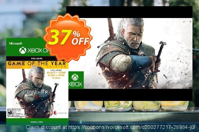 The Witcher 3: Wild Hunt – Game of the Year Edition Xbox One (US) discount 66% OFF, 2020 Halloween promo sales
