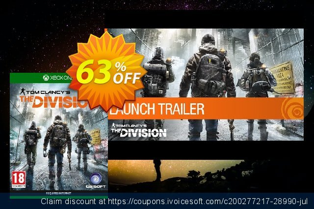 Tom Clancy's The Division Xbox One - Digital Code  놀라운   가격을 제시하다  스크린 샷