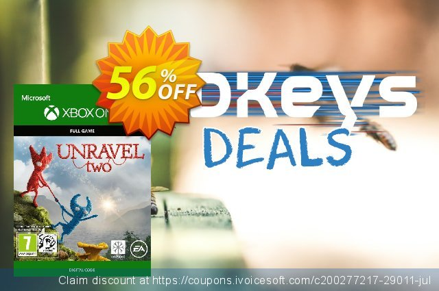 Unravel Two Xbox One discount 51% OFF, 2020 Back to School shopping offering sales