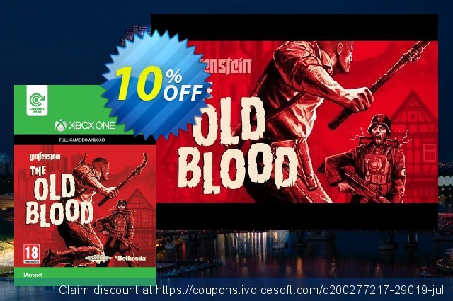 Wolfenstein: The Old Blood Xbox One - Digital Code  대단하   세일  스크린 샷