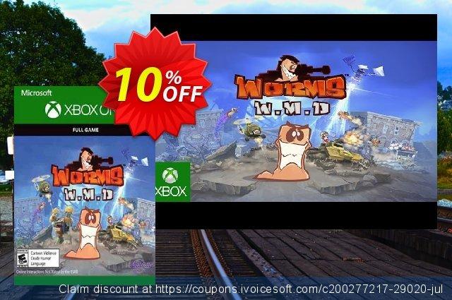 Worms W.M.D Xbox One 惊人 优惠 软件截图