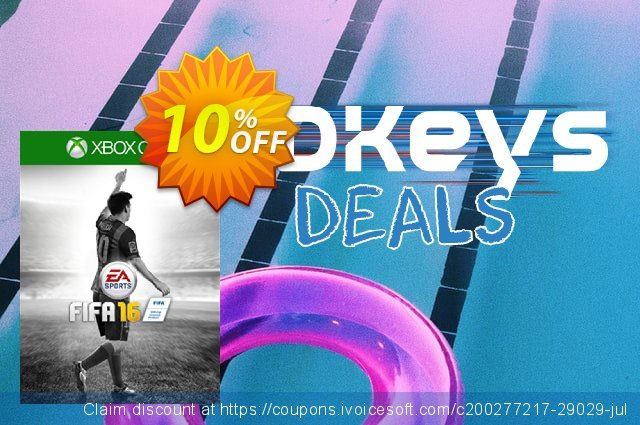FIFA 16 Xbox One - 15 FUT Gold Packs (DLC) discount 10% OFF, 2020 Back to School event offering sales