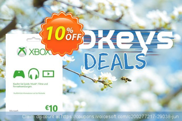 Microsoft Gift Card - 10 Euro (Xbox One/360) discount 14% OFF, 2020 Halloween offering discount