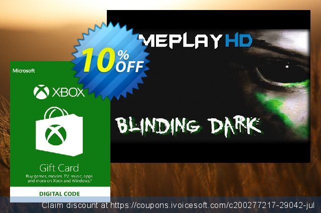 Microsoft Gift Card - £35 (Xbox One/360) 可怕的 促销 软件截图