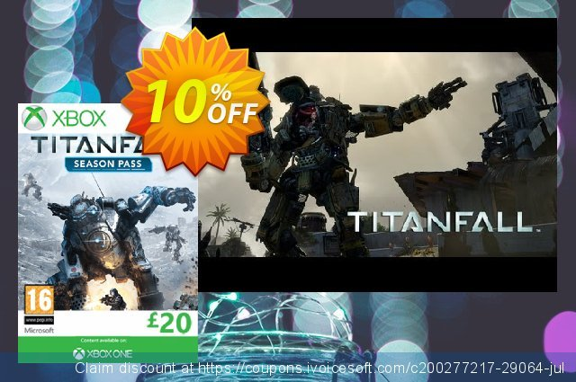 Titanfall Season Pass - Xbox Live (Xbox One/360) discount 10% OFF, 2020 Halloween offering sales