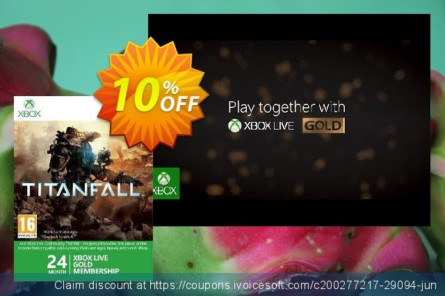 24 Month Xbox Live Gold Membership (Xbox One/360) discount 10% OFF, 2020 Back to School deals offer