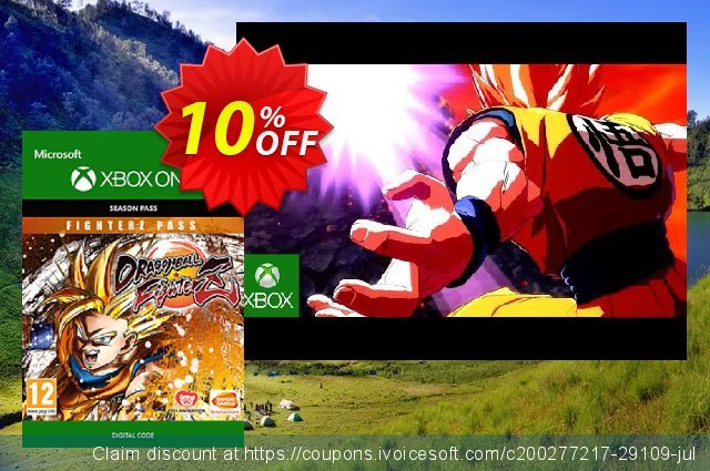 Dragon Ball: FighterZ - FighterZ Pass Xbox One discount 10% OFF, 2020 Black Friday sales