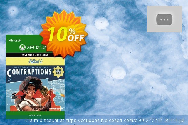 Fallout 4: Contraptions Workshop Content Pack Xbox One discount 10% OFF, 2021 Happy New Year offering sales