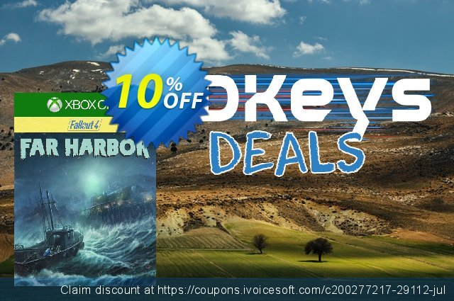 Fallout 4 Far Harbor (Xbox One) discount 10% OFF, 2020 Back to School promo deals
