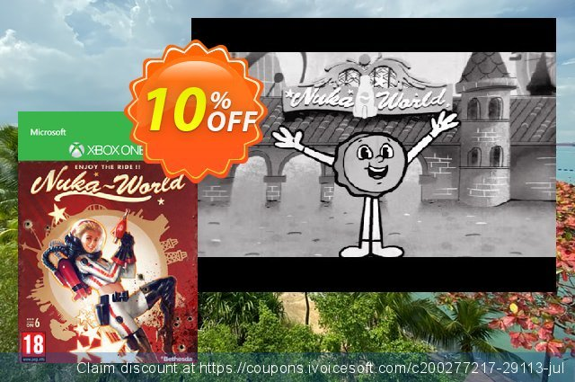 Fallout 4: Nuka World (Xbox One) discount 10% OFF, 2020 Halloween discount