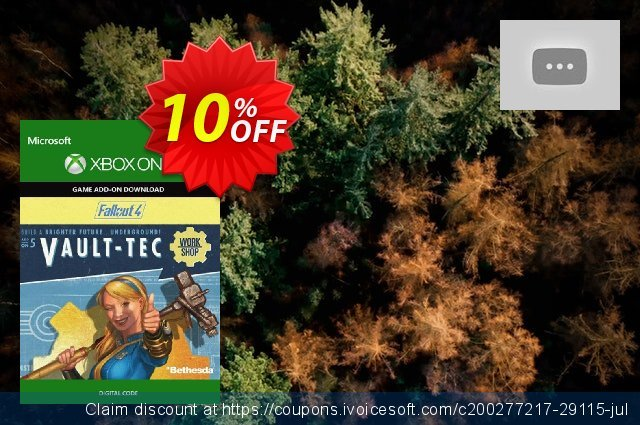 Fallout 4: Vault-Tec Workshop Content Pack Xbox One discount 10% OFF, 2021 New Year's Day offering sales