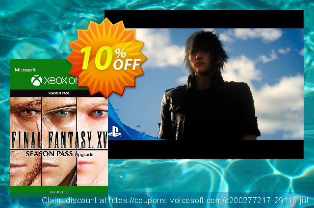 Final Fantasy XV 15 Season Pass Xbox One discount 10% OFF, 2020 Back to School coupons promo sales