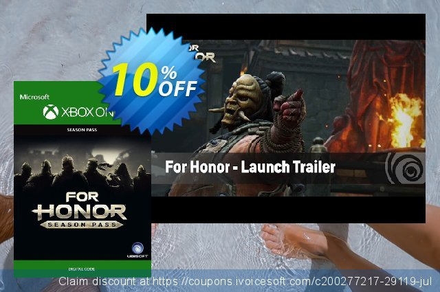 For Honor Season Pass Xbox One discount 10% OFF, 2020 Back to School season promo