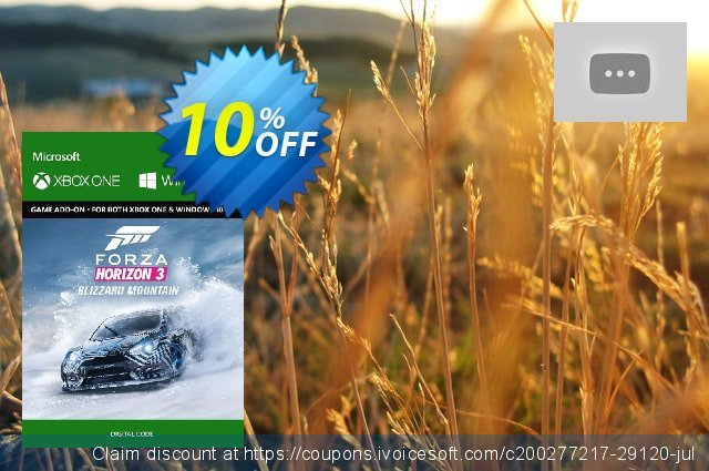 Forza Horizon 3: Blizzard Mountain Expansion Pack Xbox One  최고의   세일  스크린 샷