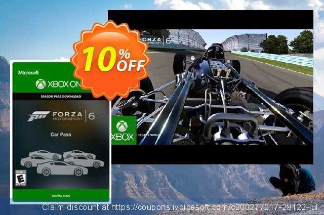 Forza Motorsport 6 Car Pass Xbox One - Digital Code  훌륭하   매상  스크린 샷
