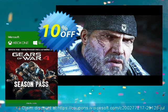 Gears of War 4 Season Pass Xbox One 대단하다  촉진  스크린 샷