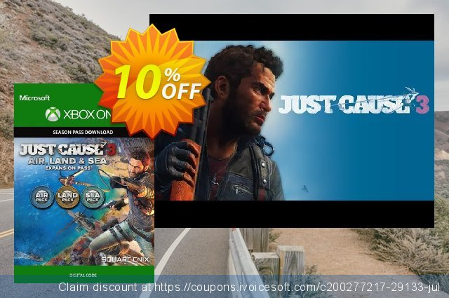 Just Cause 3 Land, Sea, Air Expansion Pass Xbox One  대단하   가격을 제시하다  스크린 샷