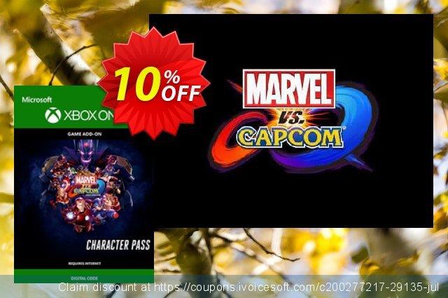 Marvel vs. Capcom Infinite Character Pass Xbox One  훌륭하   프로모션  스크린 샷