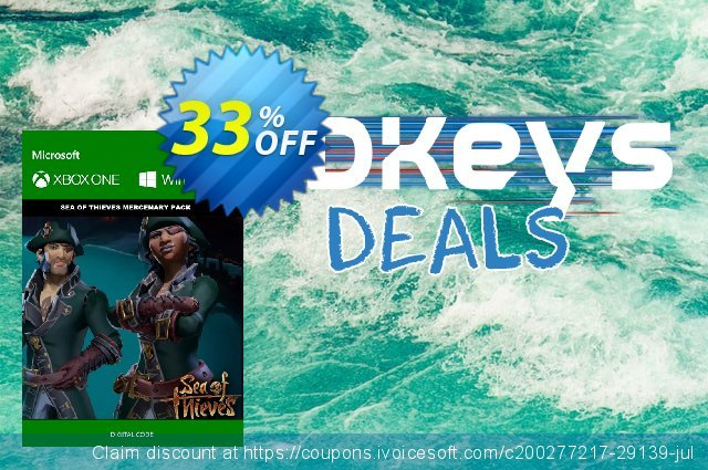 Sea of Thieves Mercenary DLC Xbox One/PC discount 33% OFF, 2020 Back to School coupons offering sales