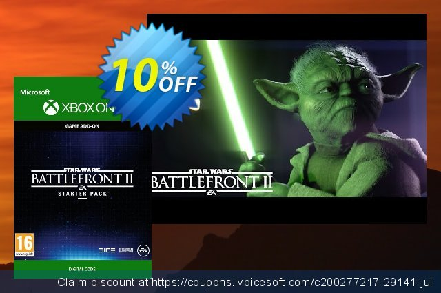 Star Wars Battlefront 2: Starter Pack Xbox One  경이로운   세일  스크린 샷