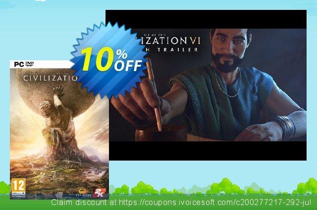 Sid Meier's Civilization VI 6 PC (Global)  위대하   가격을 제시하다  스크린 샷