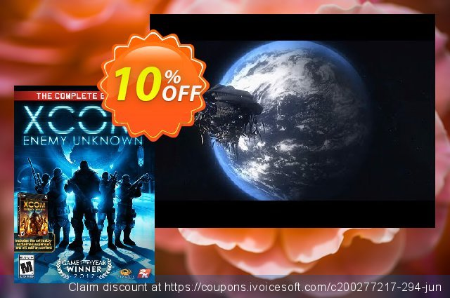 XCOM Enemy Unknown Complete Edition PC discount 10% OFF, 2021 Spring offering deals