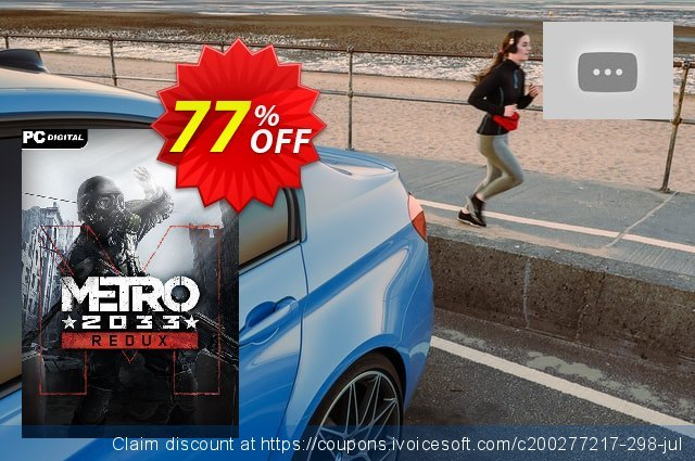 Metro 2033 Redux PC discount 68% OFF, 2021 January offering sales