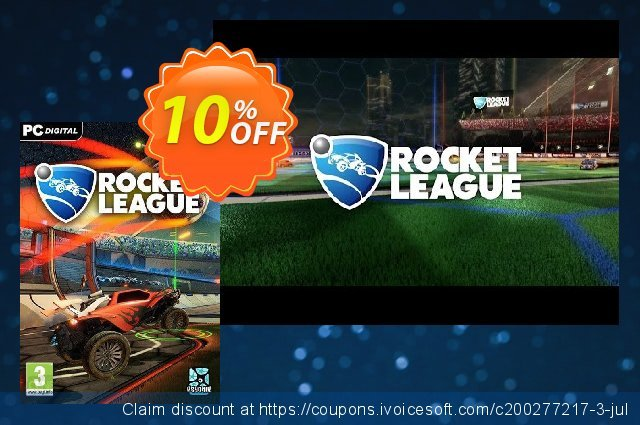 Rocket League PC discount 10% OFF, 2021 Easter day offering sales