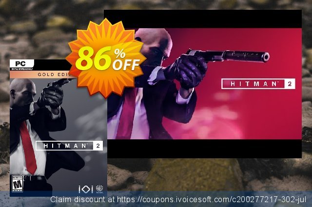 Hitman 2 Gold Edition PC discount 81% OFF, 2021 Mother Day promotions. Hitman 2 Gold Edition PC Deal