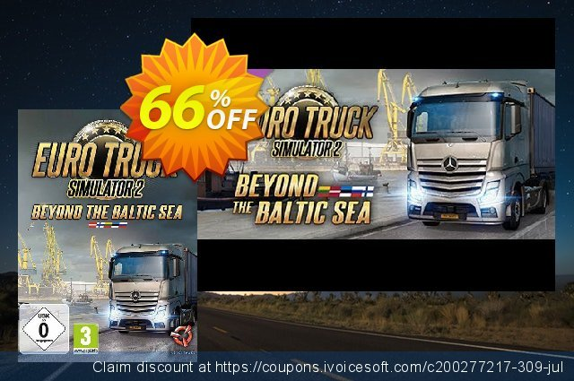 Euro Truck Simulator 2 Beyond the Baltic Sea DLC PC  위대하   촉진  스크린 샷