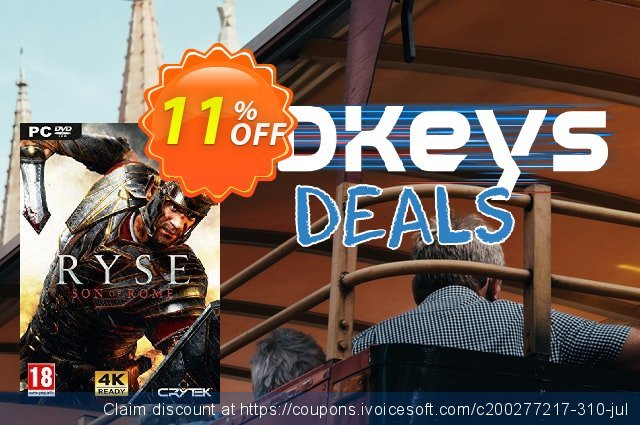 Ryse: Son of Rome PC discount 10% OFF, 2021 Mother Day promo sales. Ryse: Son of Rome PC Deal