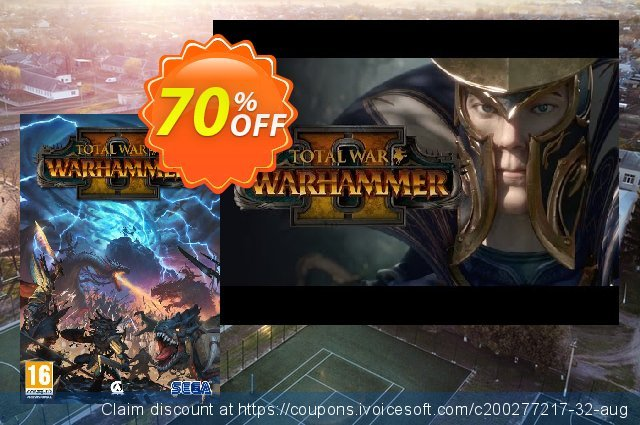 Total War: Warhammer 2 PC discount 65% OFF, 2021 Mother Day offering sales. Total War: Warhammer 2 PC Deal